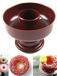 Donuts Plastic Hollow Molding Cake Bread Model Cookies Impression