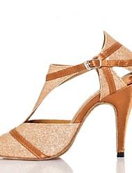 Zapatos de baile(Morado) -Danza del Vientre / Latino / Jazz / Zapatillas de Baile / Samba / Accesorios para Zapatos de Baile / Zapatos de