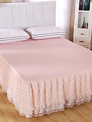 Princess Lace Bedspread Bed Skirt Mattress Dust Protection Cover Bedding Set