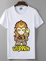 lol League of Legends coleção macaco lycra de algodão série cosplay t-shirt heróis união