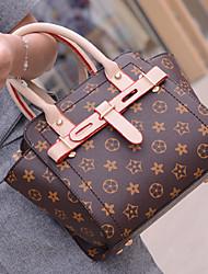 женщины пу врач сумка на плечо / большая / сумка-коричневый