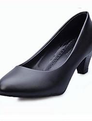 Women's Shoes  Chunky Heel Heels Heels Office & Career Black / White