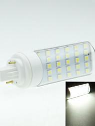6W G24 LED Bi-Pin lamput Pyörivä 30 SMD 5050 550-600 lm Lämmin valkoinen / Kylmä valkoinen Koristeltu AC 85-265 V 1 kpl
