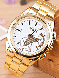 L.WEST Ladies' The Fashion Gear Steel Belt Quartz Watch Cool Watches Unique Watches