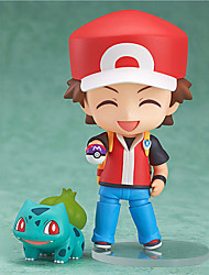 Pocket Little Monster Ash Ketchum 10CM Anime Action Figures Model Toys Doll Toy