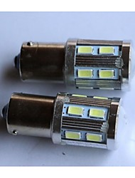 1156/1157/T20/T25 5630-12SMD+1CREE Car Tail Brake Light Turn Light Reversing lamp Side Marker Light Fog Light White