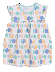 Girl's Dress,Cotton Summer Blue