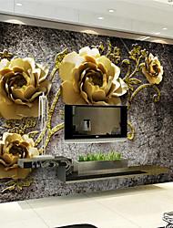 Décoration artistique Fond d'écran pour la maison Luxe Revêtement , Autre Matériel adhésif requis fond d'écran Mural , Couvre Mur Chambre