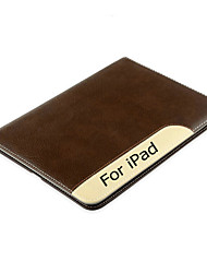 Luxury Ultra Slim Shockproof Automatic Wake-up / Sleep Smart Cover Leather Case For iPad 4/3/2