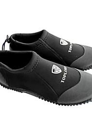 Fins de Mergulho / Sapatos para Água Neoprene Preta