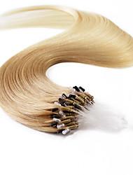 neitsi® 20inch micro anneau boucles extensions de cheveux humains sonne t27-60 de cheveux humains
