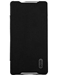 Pour Coque Sony / Xperia Z5 Clapet Coque Coque Intégrale Coque Couleur Pleine Dur Cuir PU pour Sony Sony Xperia Z5