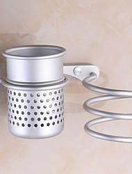 Prateleira de Banheiro Anodização De Parede 8*23*18cm Aluminio Contemporâneo