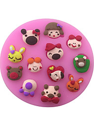 Cartoon Style Sugar Candy Fondant Cake Molds  For The Kitchen Baking Molds
