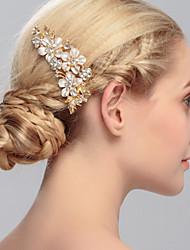 Женский Стразы Заставка-Свадьба Особые случаи На каждый день Для деловой одежды на открытом воздухе Гребни 1 шт.