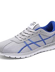 Da uomo-Sneakers-Casual / Sportivo-Ballerine-Piatto-Tulle-Nero / Blu / Grigio