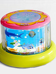 Hand Drum Multi-Function Plastic Blue / Pink / Yellow  Music Toy For Kids