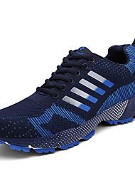 Sapatos Corrida Masculino Preto / Verde / Azul Marinho Tule