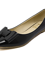 Women's Shoes  Flat Heel Pointed Toe Flats Wedding / Office & Career / Party & Evening / Dress Black