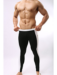 Men's Running Tights Pants/Trousers/Overtrousers Leggings BottomsBreathable Quick Dry Moisture Permeability High Breathability (>15,001g)