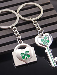 A Pair Key Lock Couple Keychains Wedding Gift