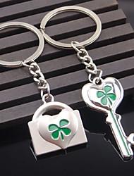 A Pair Key Lock Couple Keychains Wedding Gift