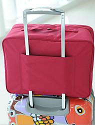 Viaje Organizador para Maletas / Colchón Inflable Almacenamiento para Viaje Tejido Verde / Rosa