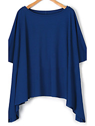 Women's Show Thin Irregular Plus Size Plus Size Top