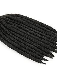 tresse cheveux havana mambo torsion synthétiques torsions noir kanekalon crochet de cheveux x-tress tresser extension de cheveux