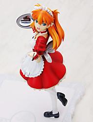 Neon Genesis Evangelion Asuka 21CM Las figuras de acción del anime Juegos de construcción muñeca de juguete