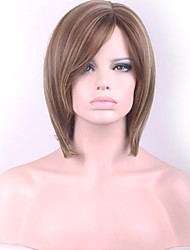 Manufacturers Selling in Europe and the High Temperature Hot Style Silk Wig Caps Ms Hair Straight Hair Nnew Promotion