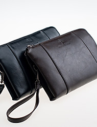 Men Bags All Seasons PU Evening Bag with for Event/Party Casual Formal Office & Career Black Brown