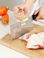 kitchen Peeler Chopping Booster Cut Fish Chicken Bones Dual-Purpose knife Bracket Cap Random Color