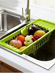 Sink Drain Fruit And Vegetable Storage Rack / Shelving Tableware,Plastic,Assorted Color