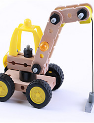 Puzzle Toy  Bricks Engineering 38pcs Excavator & Crane Model