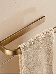 Antique Brass Bathroom Towel Rack