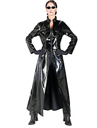 Women And Man's Unisex  Pvc Coat Outfit Windbreaker