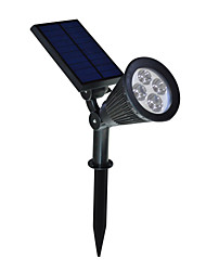 2 in 1 Solar LED Landscape Lighting Waterproof Outdoor Wall Spotlight for Tree Flag Driveway Yard Lawn Pathway Garden