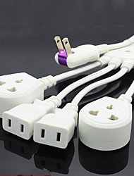 Ambulation Type 1 to 4 AC Outlet Socket Adapter