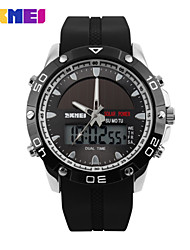 Sports Watch Men's / Ladies' / Unisex LED / LCD / Calendar / Chronograph / Water Resistant / Alarm / Soloar / Stopwatch Digital Digital