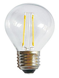 g45 2w e27 250LM 360 degrés chaud blanc froid couleur edison filament lumière / LED lampe à incandescence (AC85-265V)