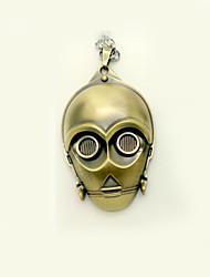 Star Wars Robot C-3PO See-Threepio Cosplay Necklace