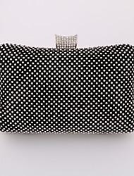 Femme Métallique Formel / Soirée / Fête / Mariage / Bureau & Travail Mobile Bag Phone Or / Argent / Noir