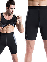 Men's High Stretch Tight Pants PRO Sports Running Short Pants Sexy Designed Sweat Quick-drying Trousers
