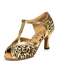 Zapatos de baile(Leopardo / Otro) -Latino / Moderno-Personalizables-Tacón Stiletto