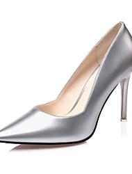 Women's Shoes  Stiletto Heel Heels / Pointed Toe / Closed Toe Heels Dress Black / Purple / Red / White / Silver