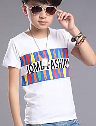 Katoen-Zomer-Boy's-T-shirt