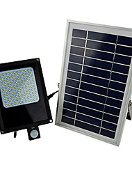 HRY® 800-1000LM 120XSMD3528 Light-control Cool White Solar LED Floodlights Solar Light Outdoor Garden Spotlights