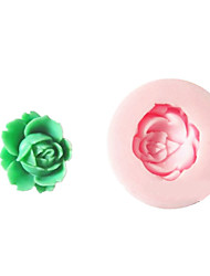 One Hole Small Flower Silicone Mold Fondant Molds Sugar Craft Tools Resin flowers Mould  For Cakes