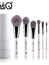 MSQ® 8pcs Makeup Brushes set Hypoallergenic/Limits bacteria Fiber White Blush brush Shadow/Brow/Lip/Eyeliner Brush Makeup Kit Cosmetic Brushes